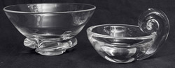 Two Stueben Crystal Bowls