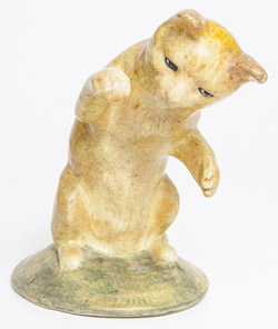 Rare Weller Pottery Cat Figure