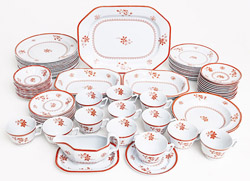"Set of Spode ""Glouchester"" Pattern China"