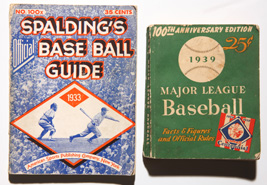 1933 Spalding Guide & 1939 Guide