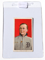 1909 T206 Ty Cobb Red Background Tobacco Card