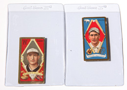 Two 1911 T205 Gold Border Tobacco Cards