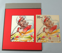 Original Cincinnati Reds Illustration Art - Frank Robinson