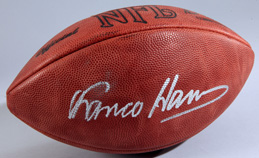 Franco Harris Autogrphed Football