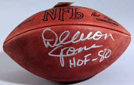 Deacon Jones Autographed Football