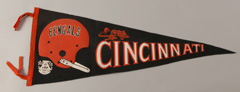 Early Cincinnati Bengals Pennant