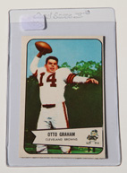 1954 Bowman #40 Otto Graham Card