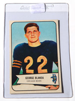 1954 Bowman George Blanda Rookie Card