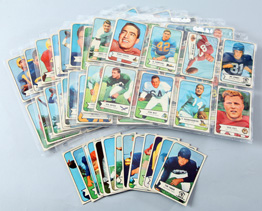 85 1954 Bowman Football Cards