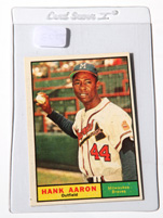1961 Topps Hank Aaron #415 Baseball Card