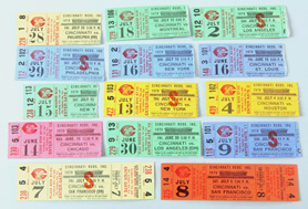 14 1978 Pete Rose 44 Game Hit Streak Tickets