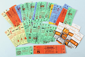 Lot of 1978 Cincinnati Reds Ticket Stubs.