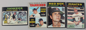 1970 Thurman Munson Rookie 1971 Clemente Plus