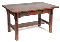 Stickley Brother Library Table #2696