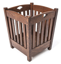 Stickley Brothers Waste Basket