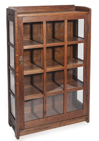 Gustav Stickley China Cabinet