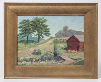 Charles H. Jaeger Oil Painting
