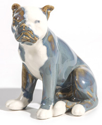 Rookwood Pottery Bulldog Paperweight