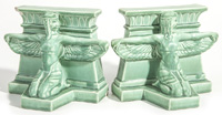 Scarce Rookwood Pottery Egyptian Bookends
