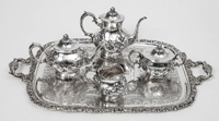 Whiting Sterling Tea Set