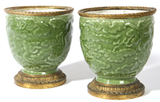 PR. SAMPSON CHINESE CELADON VASES