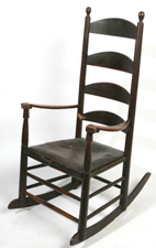 EARLY KENTUCKY SHAKER ROCKER