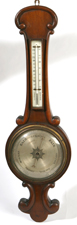 EARLY MAHOGANY BAROMETER