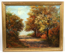 SIGNED MURPHY 20TH CENTURY OIL PAINTING