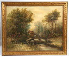 SIGNED LATE 19TH CENTURY OIL PAINTING