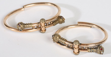 VICTORIAN MATCHING BRACELETS IN GOLD FILLED
