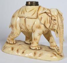 ROYAL DUX TYPE ELEPHANT OIL LAMP BASE