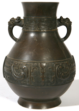 CHINESE ARCHAIC STYLE BRONZ VASE