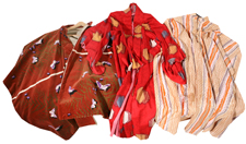 LOT OF THREE ORIENTAL ROBES