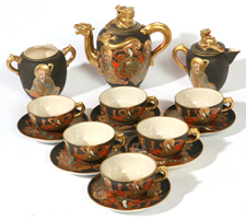 JAPANESE ROYAL SATSUMA TEA SET
