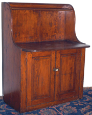 Early 2-Door Dry Sink
