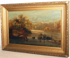 Early Hudson River School Painting