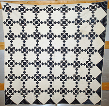 Early Blue & White Quilt