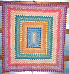Around-The-World Quilt