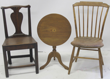 Early Child's Size Chairs & Table