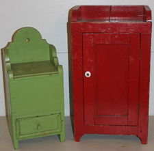 Early Cabinets w/Old Paint