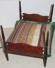 Early Doll Bed