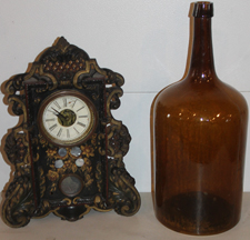 Clock & Early Bottle