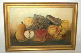Folk Art Still Life Painting