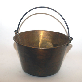 Large Brass Bucket