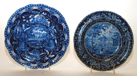 Early Historical Blue Plates