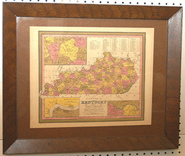 Early Kentucky Map