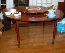 Great Cherry Table & Lazy Susan
