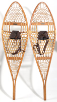 SNOCRAFT NORWAY MAINE WOODEN SNOW SHOES