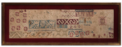 EARLY 19TH CENTURY SAMPLE NEEDLEWORK SAMPLER