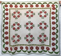 EARLY APPLIQUE QUILT